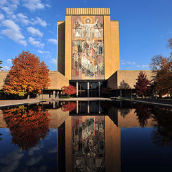 Word of Life Mural, Hesburgh Library